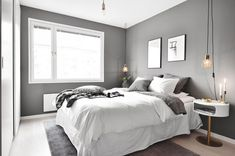 Savvy and Inspiring masculine bedroom wall colors just on home design ideas site Neutral Bedrooms, Gray Bedroom, Grey Bedding, Bedroom Wall, Master Bedroom, Bedroom Decor, Zen Room, Room Ideas Bedroom, Apartment Design
