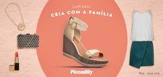 #look #fashion #moda #trend  #sapatos #shoes #tendencia #piccadilly #mylook #ceia #natal #família