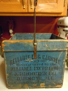 Crate Cheap Sale Vintage Antiqued Wooden Box Trug Alice Box Attractive Appearance