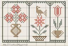 Dutch Tulip Free Cross Stitch Pattern Chart ~ Pretty soft p Free Cross Stitch Charts, Cross Stitch Freebies, Cross Stitch Bookmarks, Cross Stitch Heart, Cross Stitch Borders, Cross Stitch Samplers, Cross Stitch Flowers, Cross Stitch Designs, Cross Stitching
