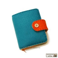 Wallet sewing pattern/tutorial felt wallet by NapkittenPattern