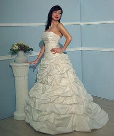 Anette Angelyeu Einschulter BrautkleidHochzeitskleiderMode
