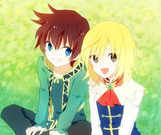 Richard and Asbel Tales of Graces