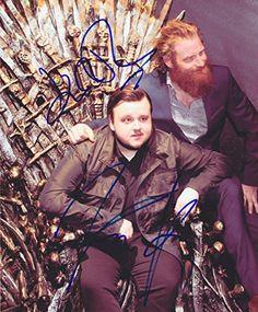 Kristofer Hivju John Bradley Real Autographed Signed 8x10 Photo COA 'Game of Thrones' Tormund Giantsbane with Lifetime Guarantee of authenticity with Certificate of Authenticity - by Authentic Ink Graphs www.authenticinkgraphs.com
