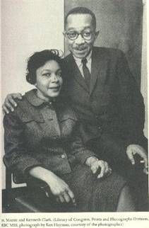 Kenneth B. and Mamie P. Clark. Kenneth became the first African American president of the American Psychological Association and the first African American to receive a Ph.D in psychology from Columbia University (1940). Kenneth Clark received a bachelors degree in political science and a masters degree in psycholgy from Howard University.