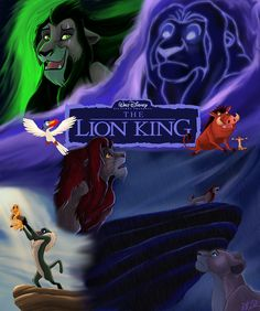 I've always thought the cover for the re-release of The Lion King was very poor, so I decided to redesign it with my own version of the cover. I wish Disney had gave us a chance to design a cover o...