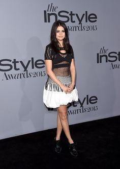 October 26: Selena attending the 2015 InStyle Awards in Los Angeles, CA