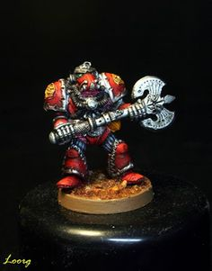 Frontal del Adeptus Mechanicus de Bob Olley