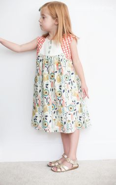 cotton and steel dress \\ craftiness is not optional