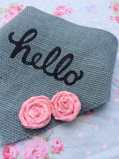 A personal favorite from my Etsy shop https://www.etsy.com/listing/485546355/hello-dog-bandana-blue-and-pink-flower
