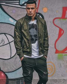 "Matija Draskovic on Instagram: ""When the going gets tough, the tough get going... 🦍"" Bomber Jacket, Jackets, Instagram, Fashion, Down Jackets, Moda, La Mode, Bomber Jackets, Fasion"