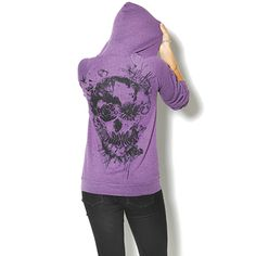 UD SKULL HOODIE I didn't even know Urban Decay had clothes... LOVE THIS!!