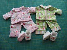 Bitty Twins Christmas Pajamas | Flickr - Photo Sharing! #rileyblakedesigns #christmas