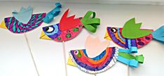 Tvoříme s dětmi  ☺: Voláme jaro...... Bird Crafts, Jar, Easter, Scrapbook, Logos, Drawings, Art Ideas, Easter Activities, Logo