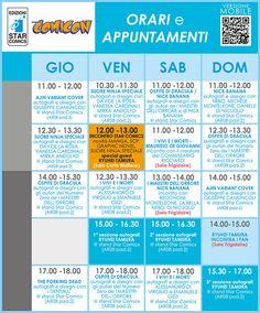 Star Comics Programma Napoli Comicon 2015