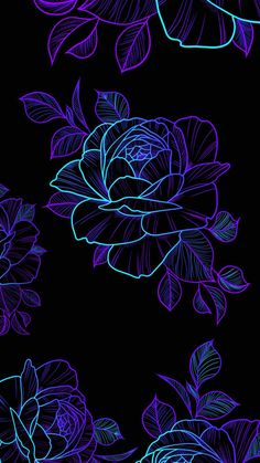 Amoled Roses iPhone Wallpaper - iPhone Wallpapers
