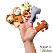 Dear Zoo Finger Puppets - as seen in Baby London and more dear zoo toys!