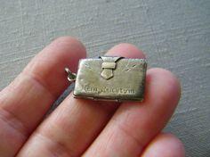 """Antique Victorian Art Nouveau German 800 Silver Photo Locket """" Mein Reichtum """"   eBay"""