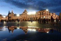 Fotografía: Adriana Santana Varela - GUM-Plaza Roja de Moscú Helsinki, Adriana Santana, Plaza, Mansions, House Styles, Saint Petersburg, Stockholm, Russia, Vacations