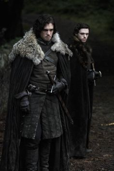 Game of Thrones - John Snow & Robb Stark hmm my two favourite GoT guys (closed followed by Lorras Tyrell) <3