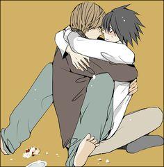 Death Note - Raito 'Light' Yagami x L 'Ryuuzaki' Lawliet - LawLight