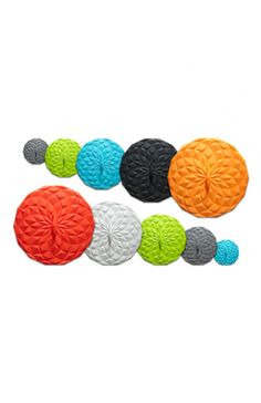 """GIR Silicone Lids in 5 Sizes from 4"""" to 12.5"""" for Bowls or Pots (Withstands temperatures up to 464 degrees.)"""