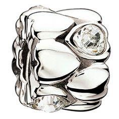 Chamilia - Crystal Hearts Bead - 2083-0030