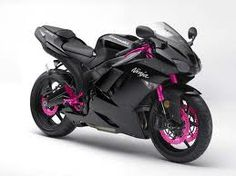 kawasakie ninja 250 r blk/pnk