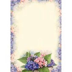 Floris Briefpapier A4 Hortensia