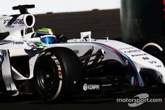 Felipe Massa, Williams FW36, opps problems in Q1
