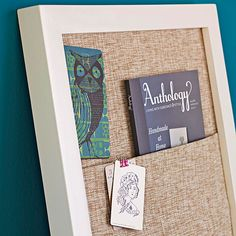 In the Pocket- instead of building a frame use an existing large picture frame, cut plywood to fit.