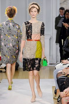 moschino cheap and chic #lfw
