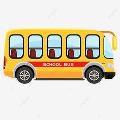 School Bus Clipart, Cartoon School Bus, Bus Cartoon, School Boy, Primary School, Car Drawing Kids, 1st Birthday Cakes, Starting School, Bus Travel
