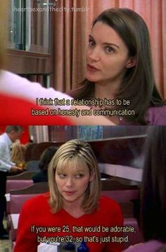 """Sometimes you just have to be brutally honest with your friends, but it's only because you care. 