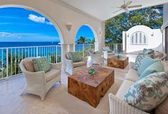 The embodiment of resort living at its finest, this penthouse makes a jaunt to Barbados the ultimate vacation.
