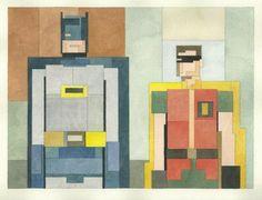Acquerelli a 8 bit, l'arte nerd di Adam Lister