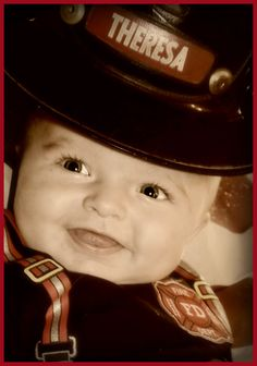 Our newest little firefighter baby!