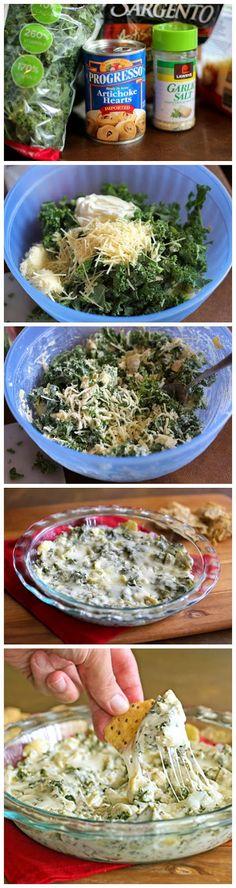 Kale and Artichoke Dip