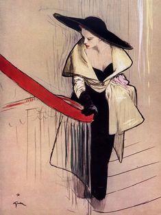 Christian Dior 1948 Evening Gown, René Gruau Love this!!qb!!