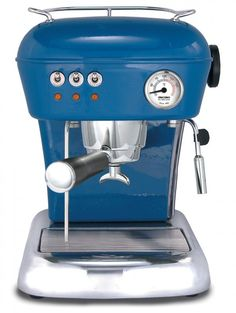 Learn more about Ascaso Dream UP Mediterranean blue espresso and cappuccino machines Machine A Cafe Expresso, Coffe Machine, Espresso Machine Reviews, Espresso Coffee Machine, Coffee Maker, Cappuccino Maker, Cappuccino Machine, Espresso Maker, Cappuccino Coffee