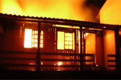 Incêndio deixa três pessoas feridas em Imperatriz
