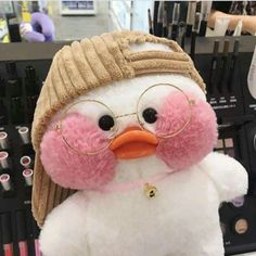 This Russian Teen Can Transform Herself Into Anyone, And Her Pics Will Amaze You Aesthetic Themes, Pink Aesthetic, Cute Stuffed Animals, Cute Animals, Cute Ducklings, Duck Toy, Cute Plush, Cute Toys, Plushies