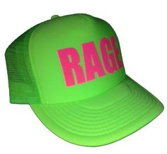 cecb4f5f28a Funny Guy Mugs Rage Neon Green Trucker Hat Funny Guy Mugs Festival Gear