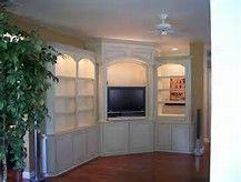 Built in Corner TV Cabinet