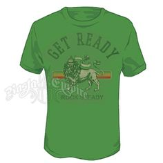 Lion of Judah Get Ready Kelly Green T-Shirt - Men's