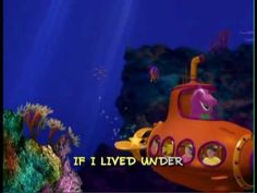 """""""If I Lived Under the Sea"""" Barney song"""