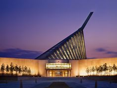 Fentress Architects | Portfolio | Museums | National Museum of the Marine Corps