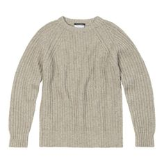 Lovi'n the NEW !! @richardjamesrow YAK AND MERINO CREW NECK    An exquisite to touch Scottish made Yak and Merino cable-knit crew neck in oatmeal with a distinctive rectangular knitted elbow patch detail in tan. The Yak wool gives this knit unsurpassable warmth and a clean, fitted elegance. The ultimate in snug winter knitwear