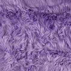 Faux Fur Luxury Shag Lavender from @fabricdotcom This super soft high quality faux fur fabric has a 1 1/2'' long lustrous pile. It's perfect for stuffed animals, costumes, faux fur jackets and vests, pillows and throws.