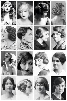 #1920s hairstyle